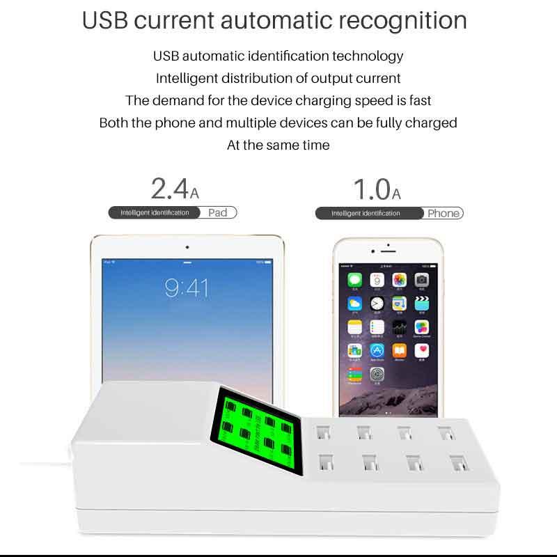 Hub CDA6 thông minh nhận sạc thiết bị sạc