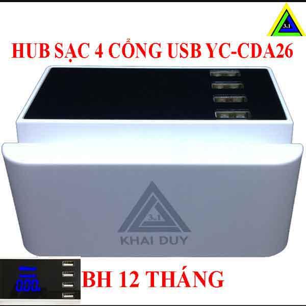 Hub sạc YC-CDA26A