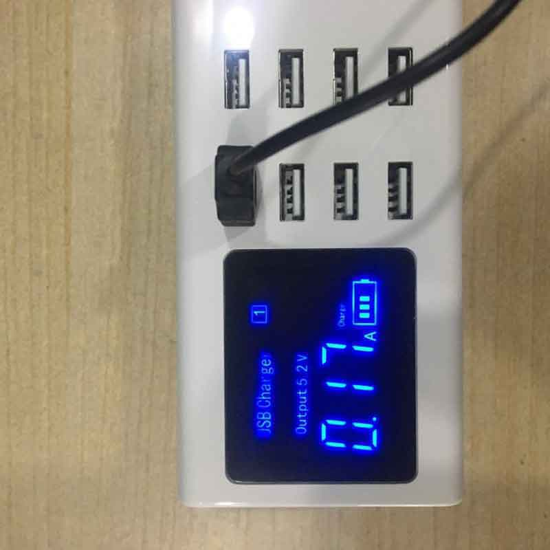Màn hình LCD 8 cổng USB YC-CDA23