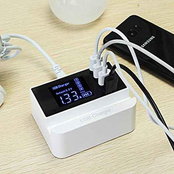 Ổ cắm sạc 4 USB YC-CDA26A