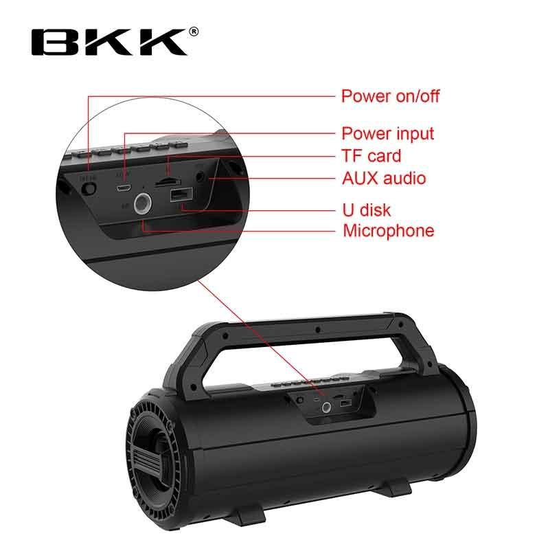 Loa Bluetooth FM BKK B98