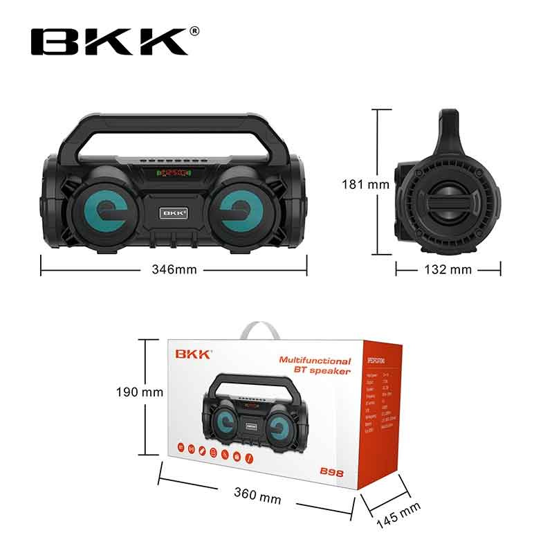 Loa Bluetooth Karaoke BKK B98