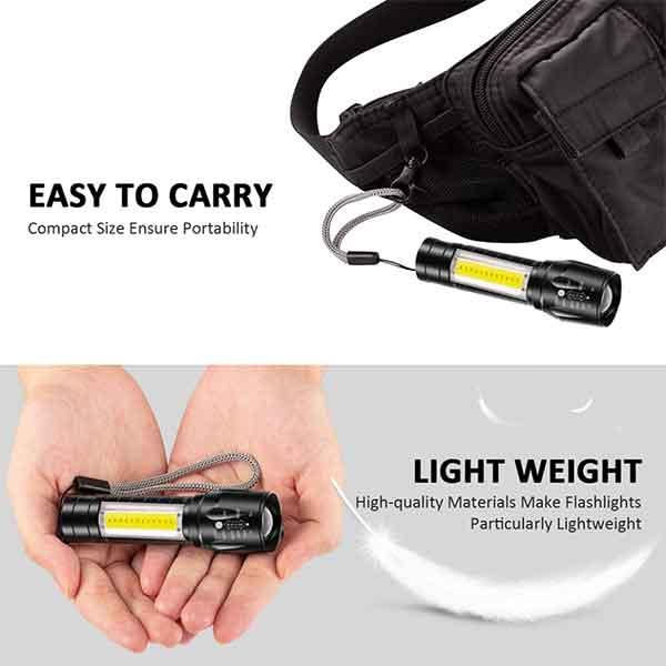 Đèn pin bỏ túi mini