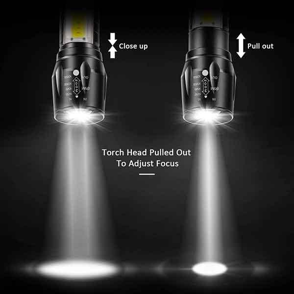 đèn pin mini chiếu sáng