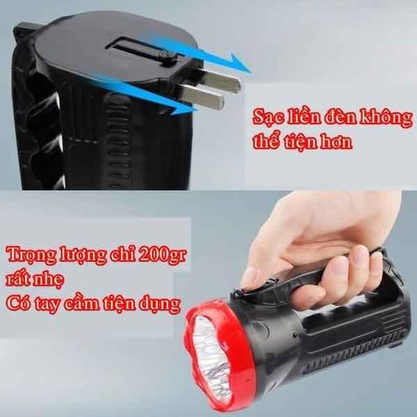 Đèn pin xách tay siêu sáng giá rẻ YS-3319