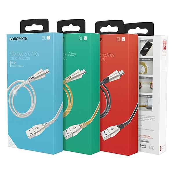 Cáp sạc Mirco USB Borofone BU2