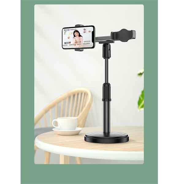 Giá đỡ 2 điện thoại chống trượt để bàn mini