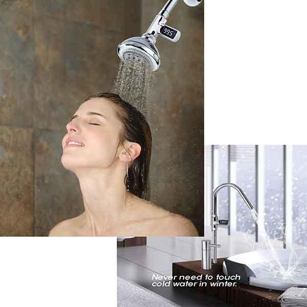 Tắm không bị bỏng da