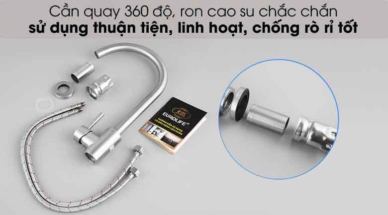 Bộ sản phẩm vòi rửa chén L-404