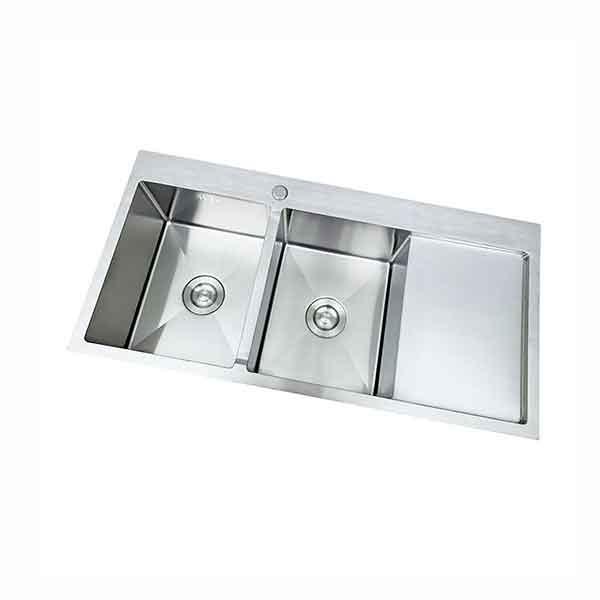 Bồn rửa chén đúc inox 304 2 ngăn C-10048