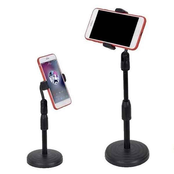 Giá đỡ kẹp điện thoại để bàn chân tròn