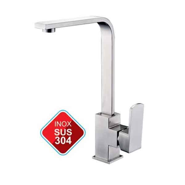 Vòi rửa chén nóng lạnh L-405 SUS 304 cao cấp