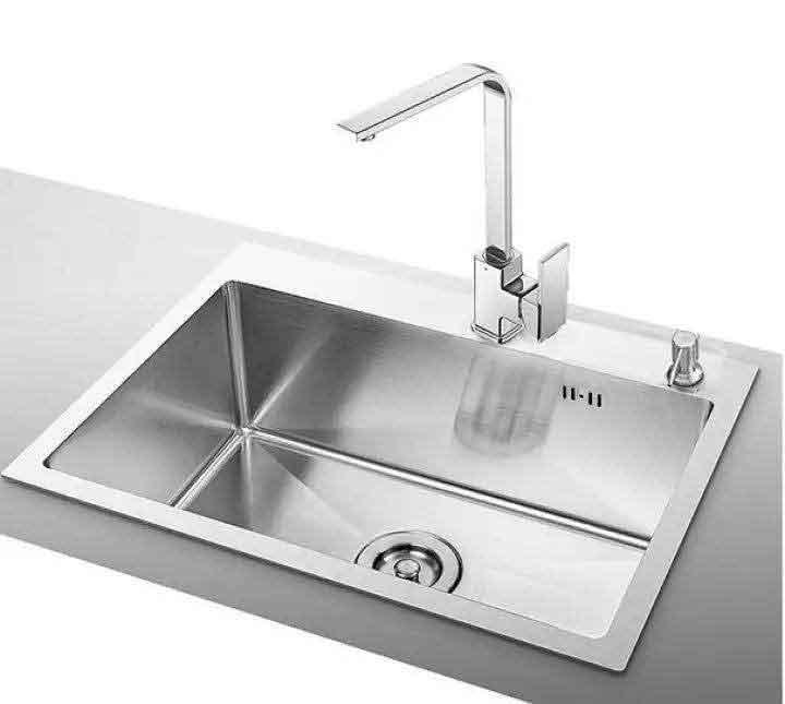 Bồn rửa chén 1 ngăn lớn C-6045