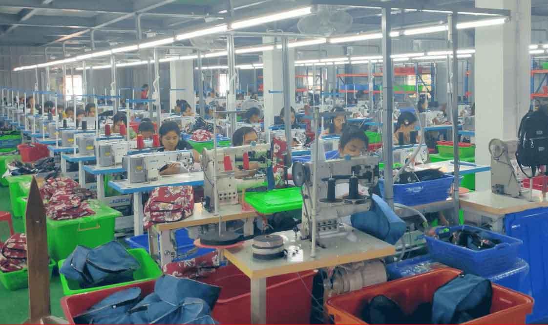 Xưởng may balo túi xách Thiên Phú