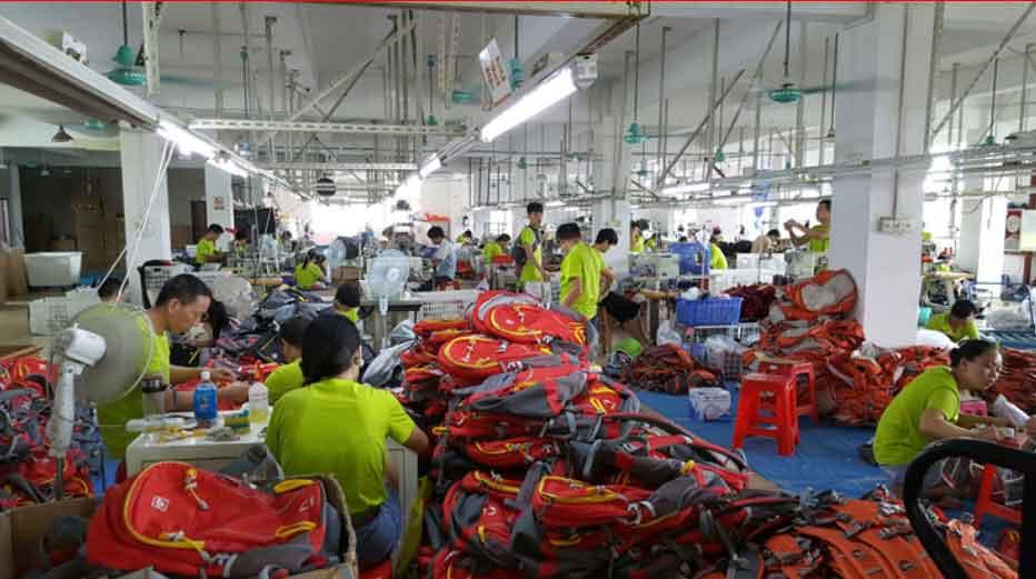 Các khía cạnh nhà máy sản xuất balo túi xách