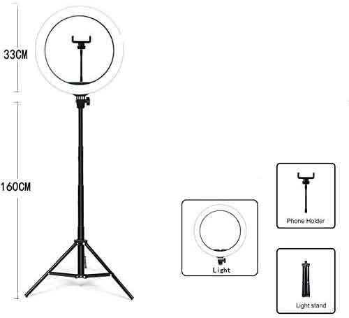 Chân đèn livestream 33 cm